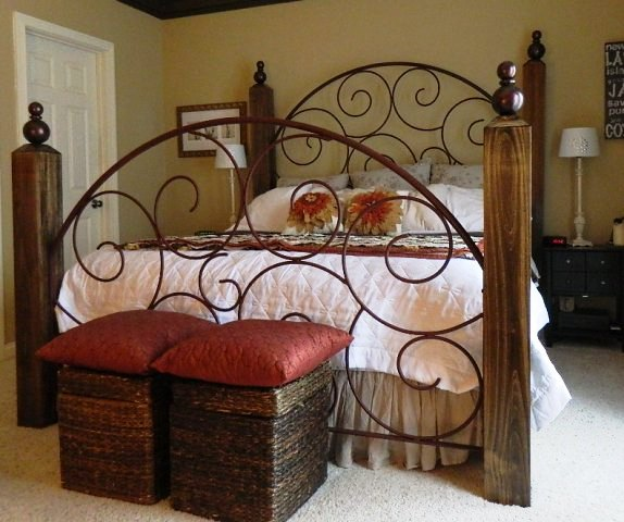 Paul Frank Bedroom In A Box: Re-deFIND: DIY Wrought Iron Bed