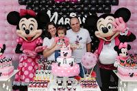 Primeiro aniversário de Mariana - Decoração da Minnie e Mickey, Disney