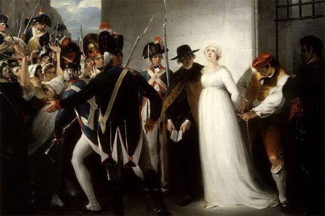 Императрица Мария-Антуанетта перед казнью