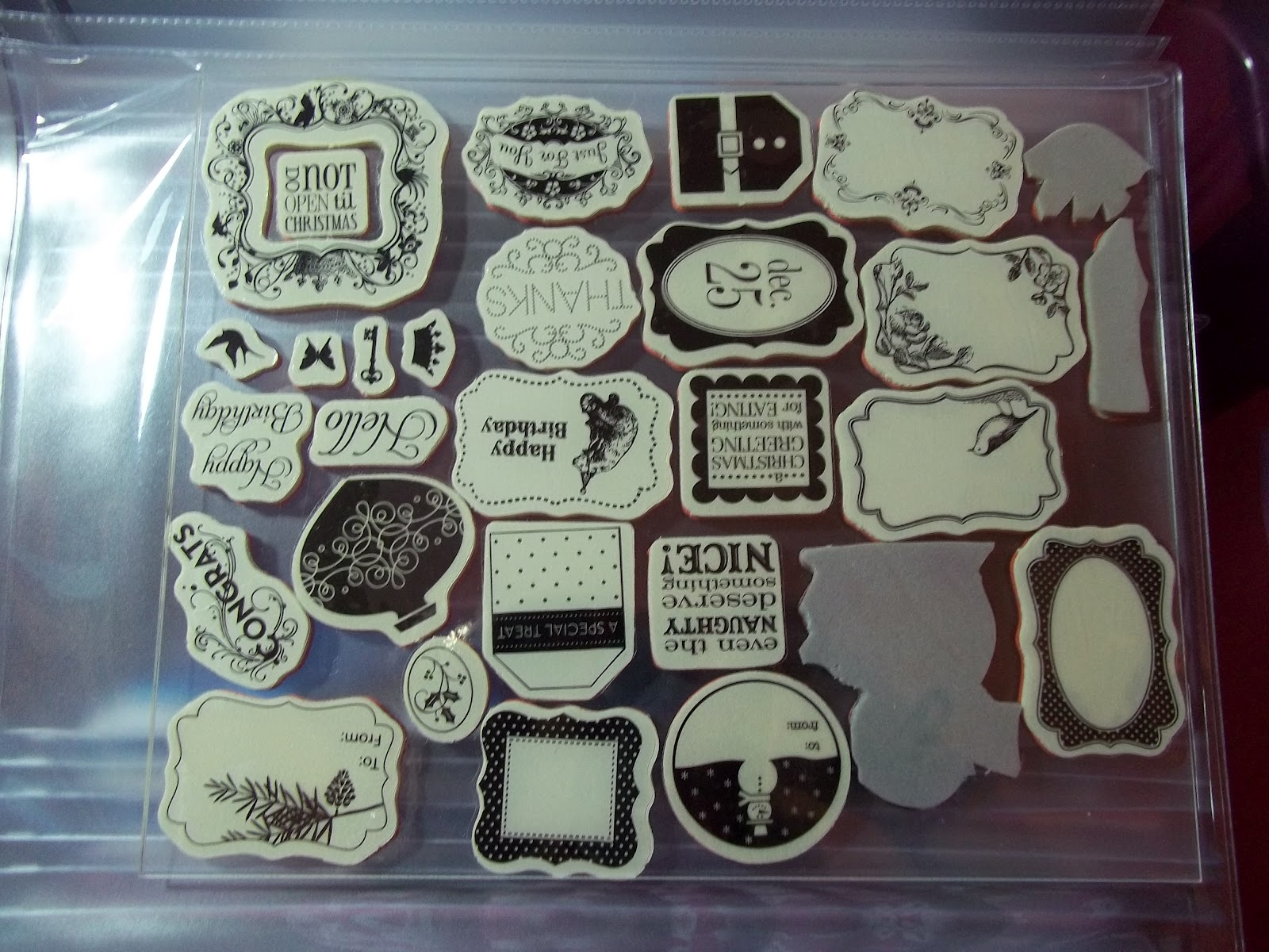 Beulah S Creations Cling Mount Stamp Storage