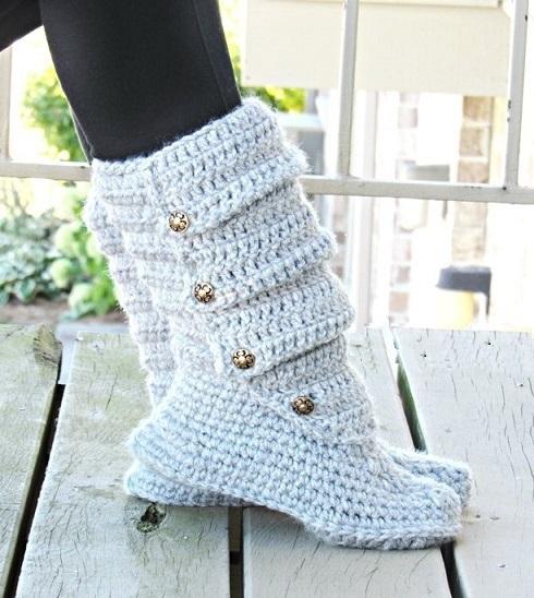 Crochet dreamz slouch boots crochet pattern slipper crochet slouch boots crochet pattern slipper crochet pattern us shoe sizes 5 to 10 dt1010fo