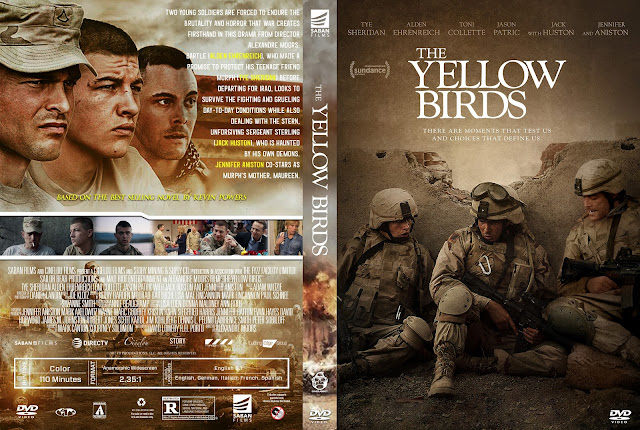 The Yellow Birds DVD Cover