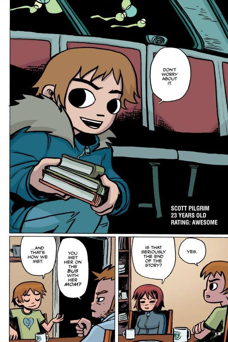 Read online Scott Pilgrim comic -  Issue #1 - 9