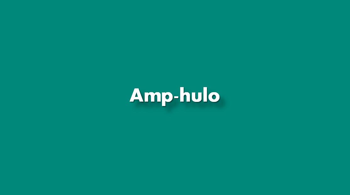 ¿Cómo insertar Amp-hulo?