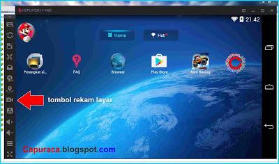 Koplayer pilihan Emulator Android dengan fitur rekam layar