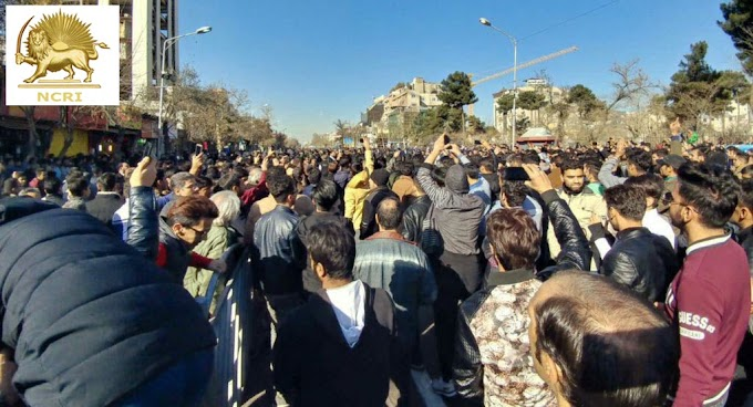 """Uprising in Mashhad, Against the High Cost of Living, People Chanting """"Death to the Dictator"""", """"Death to Rouhani"""""""