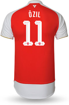 low priced 5c29e 83f28 Arsenal 15-16 Kit Font Revealed - Footy Headlines
