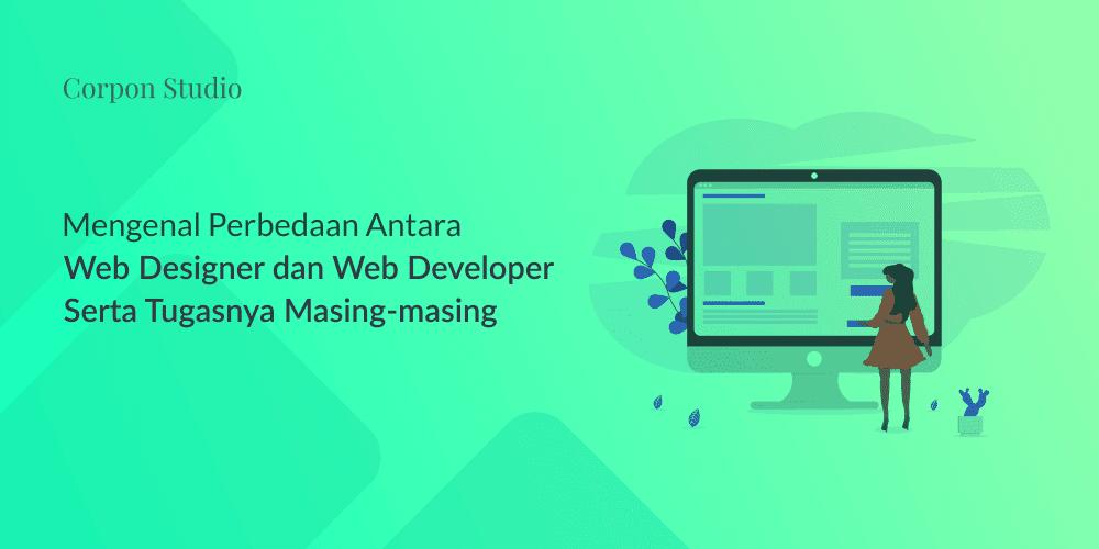 Perbedaan Web Designer dan Web Developer