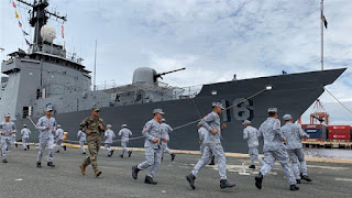 1st US-ASEAN maritime drills
