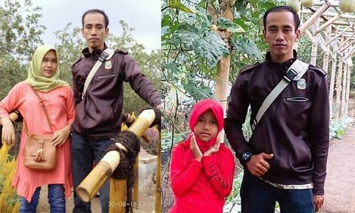 Mirip Presiden Jokowi