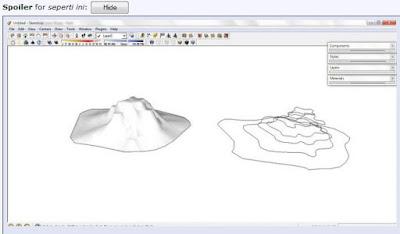 Tutorial Sketchup Membuat Kontur -  Kursus Sketchup Griya Bagus