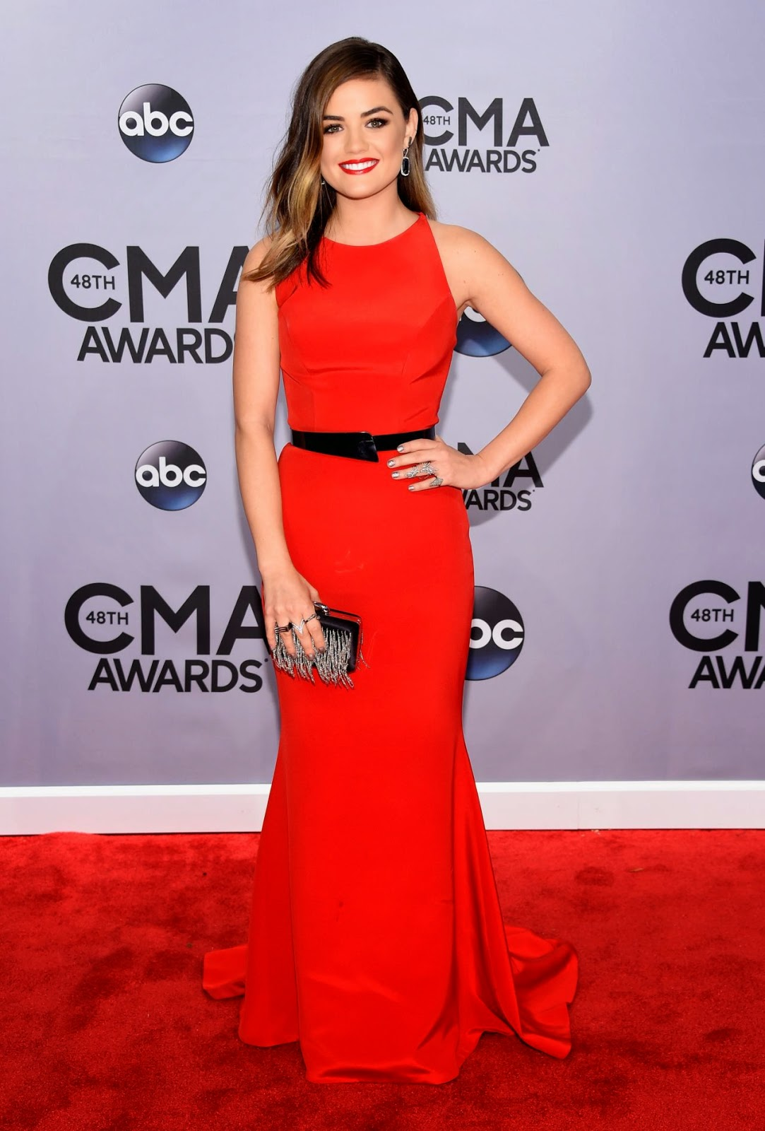 Lucy Hale - Best Dressed Celebrities at the 2014 Annual CMA Awards in Nashville