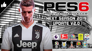 PES 6 Next Season Patch 2019 - New Update v2.0