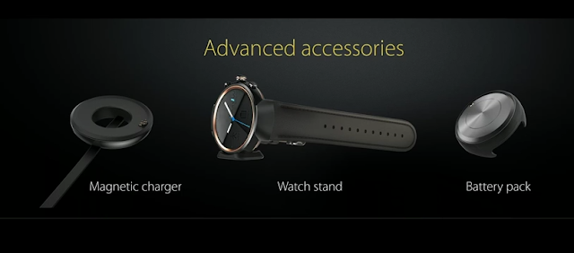 Asus ZenWatch 3 accessories