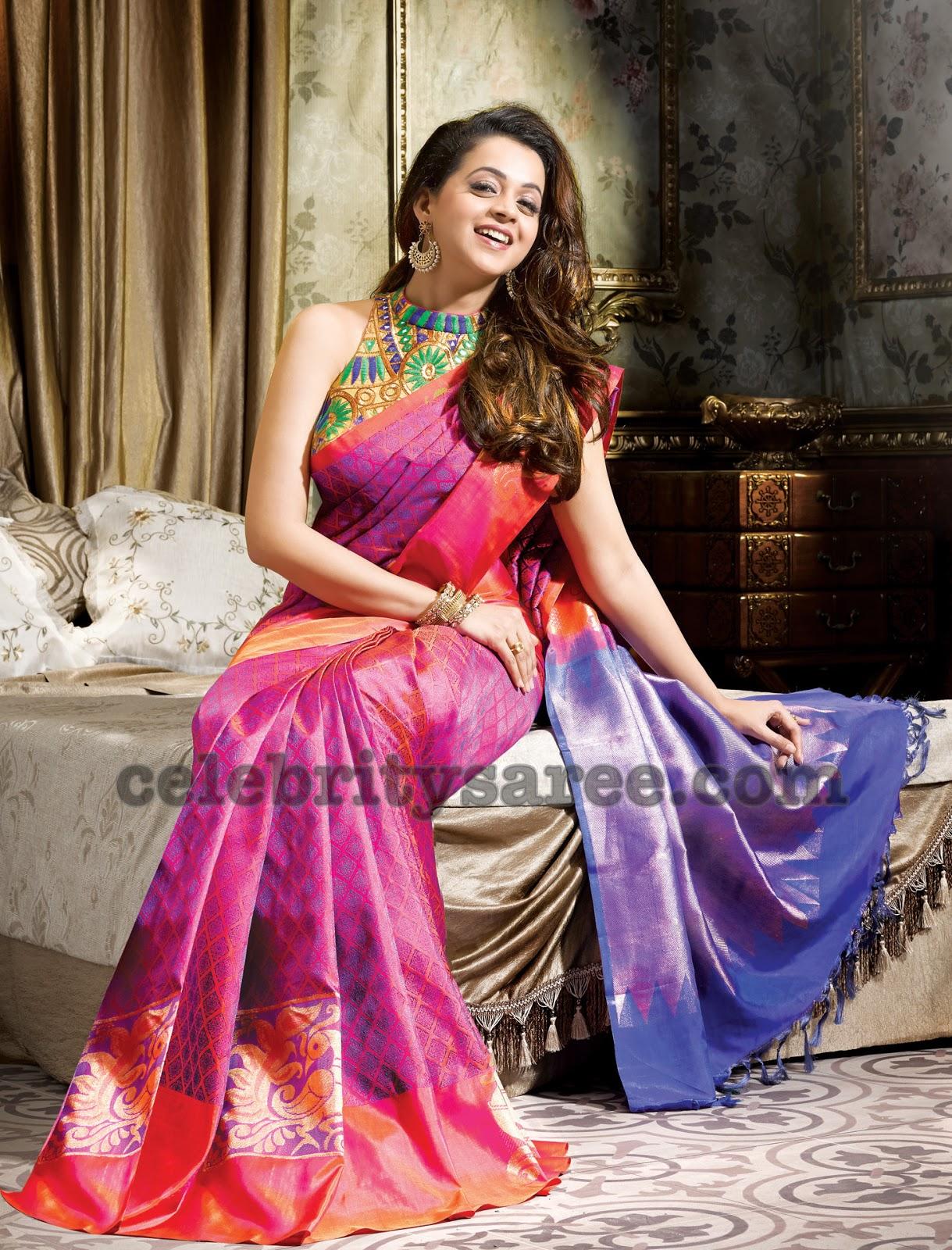 Bhavana soft silk bridal sarees saree blouse patterns bhavana soft silk sarees altavistaventures Image collections