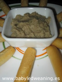 Receta: Paté de champiñones y setas de cardo (thermomix y tradicional)