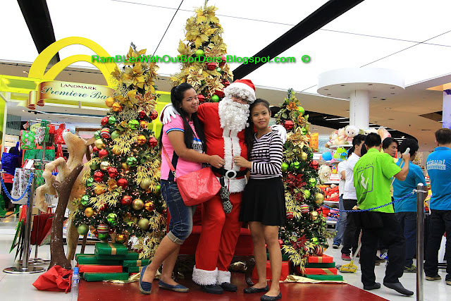 Santa, Landmark Mall, Makati, Manila, Philippines