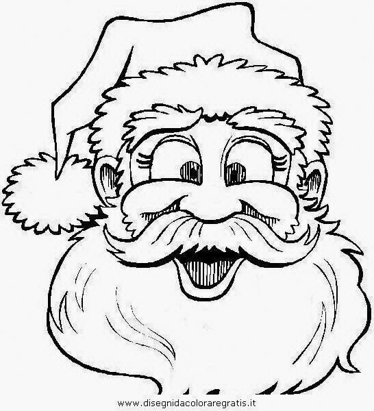 Santa Claus Images - Many images of Santa Claus to print and color with children