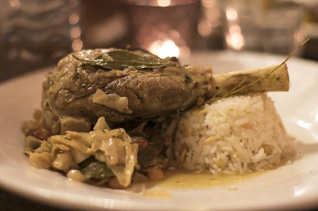 Cena da Osmans Tochter (ristorante turco)