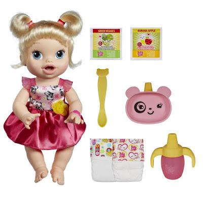 Boneca Baby Alive Loira - Hora de Comer - Hasbro