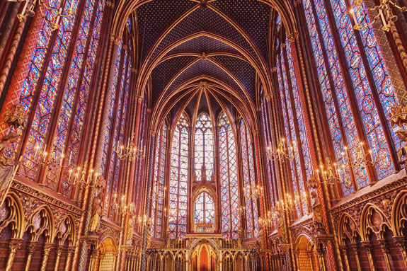 places to visit in paris in 2 days sainte chapelle