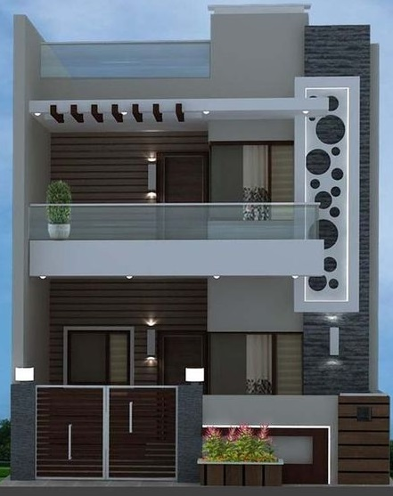 Modern House Front Designs 50 Exterior Wall Decoration Ideas 2019