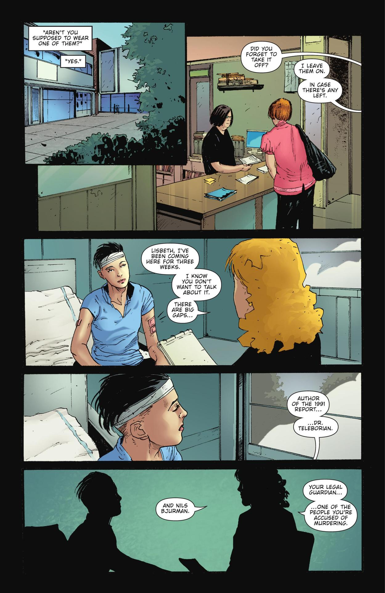 Read online The Girl Who Kicked The Hornet's Nest comic -  Issue # TPB - 127