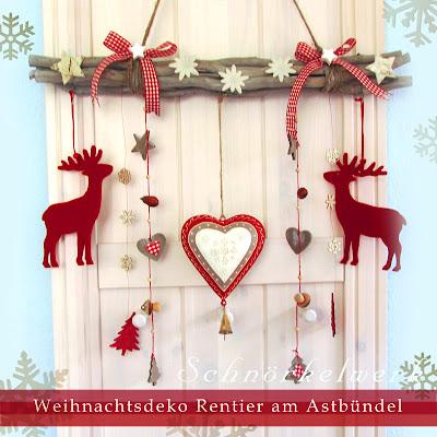 Weihnachtsdeko am ast depresszio - Weihnachtsdeko ast ...