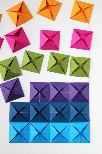 Cara Membuat Hiasan Kelas Dari Kertas Origami Temukan Contoh