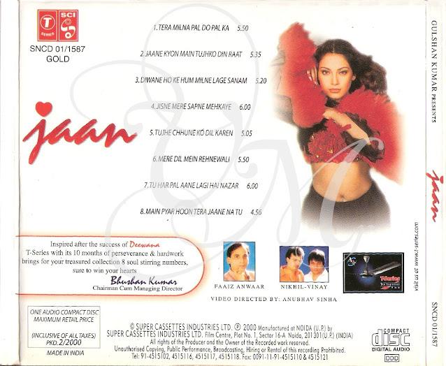 Jaan-Sonu Nigam [2000-MP3-VBR-320Kbps]