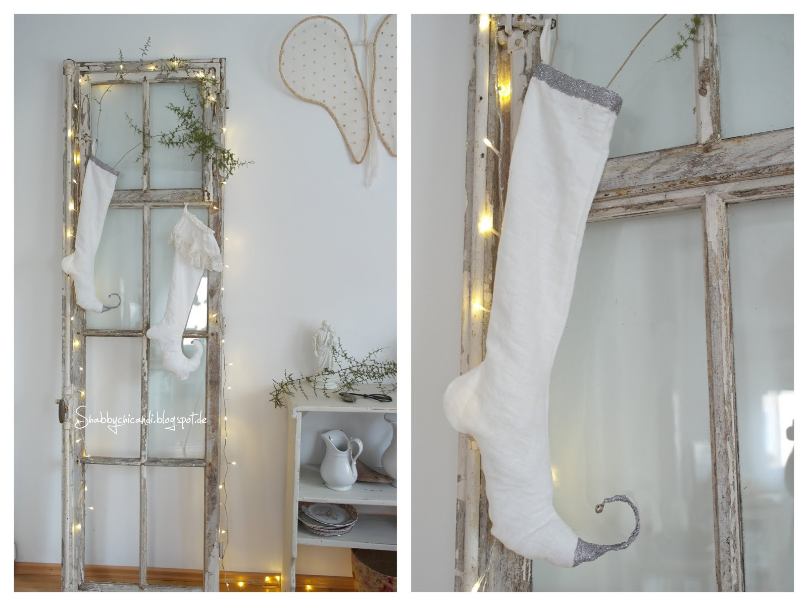 Shabby chic and i shabby chic diy und deko frohe for Shabby chic weihnachtsdeko