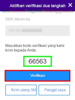 kode verifkasi 2 langkah yahoo mail