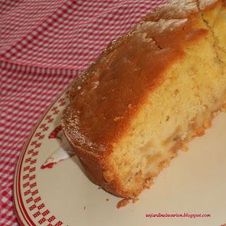 Gâteau Moelleux aux pommes en dessert