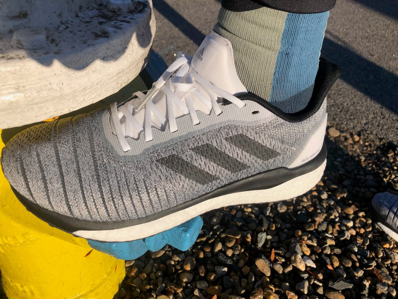 Fracción Prefacio internacional  Road Trail Run: adidas Solar Drive Review: Durable, Soft and Easy Trainer  with a Cage Free Upper Gets the Job Done