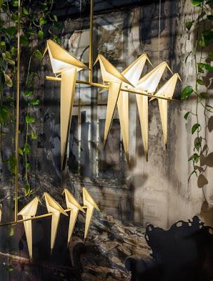 Geometric Bird Lamp