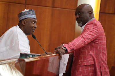 """Don't be afraid of """"federal might"""" – Saraki urges supporters, says PDP will sweep the election"""