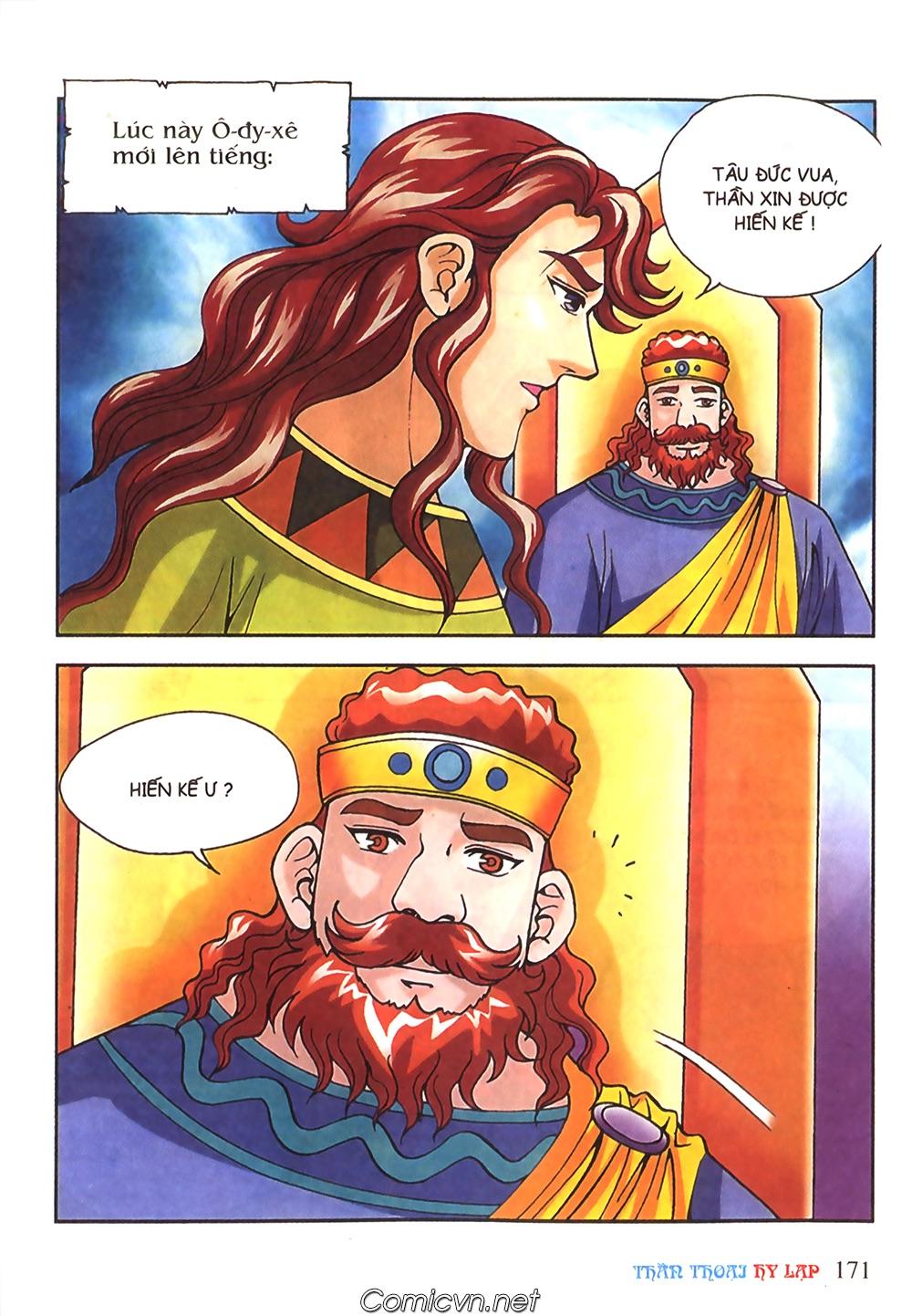 Thần Thoại Hy Lạp Màu - Chapter 51: Nàng công chúa Helen - Pic 10