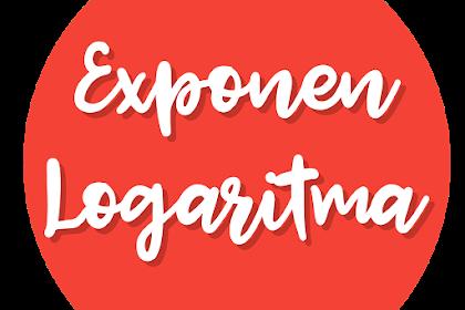 Eksponen dan Logaritma