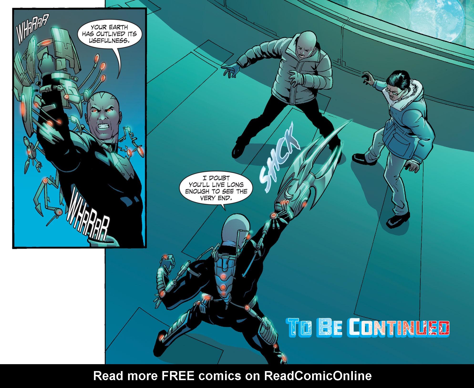 Read online Smallville: Alien comic -  Issue #8 - 22