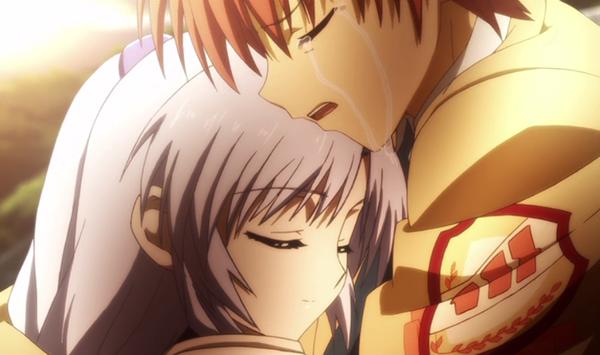 Angel Beats - Anime romance perempuan pendek lelaki tinggi