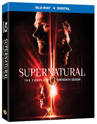 Supernatural season 13 Blu-ray box art