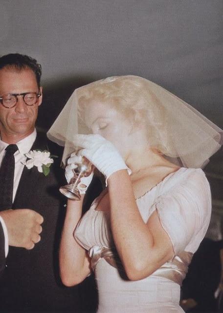 Marilyn Monroe e Arthur Miller casamento