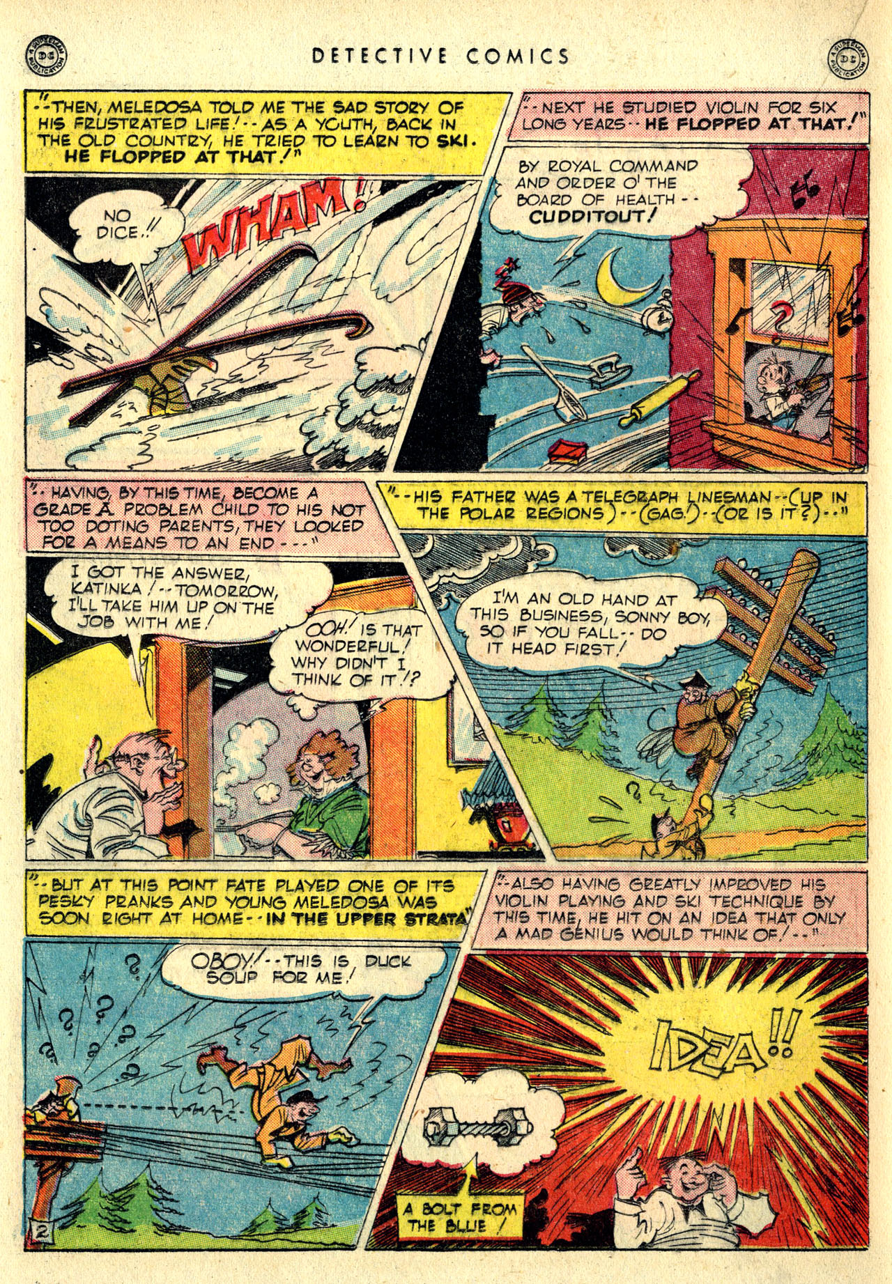 Read online Detective Comics (1937) comic -  Issue #116 - 34