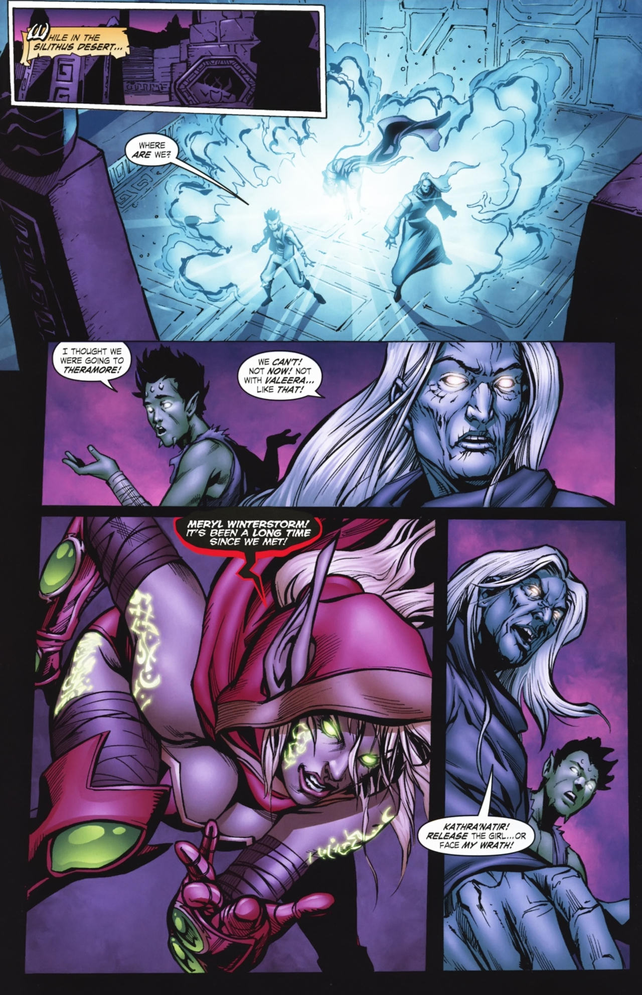 Read online World of Warcraft comic -  Issue #20 - 21