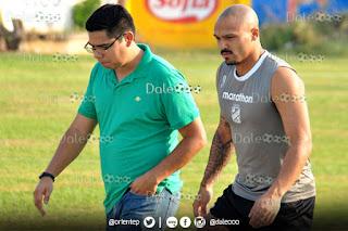 Oriente Petrolero - Enrique Ángelo - Maximiliano Freitas se pierde el resto del Torneo Clausura 2017 - DaleOoo