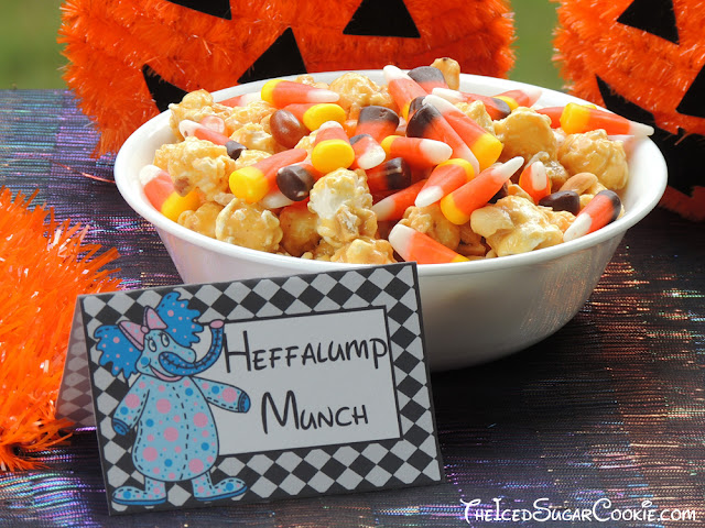 Heffalumps And Woozles Food Label Tent Cards-DIY Halloween Trick Or Treat Birthday Party Ideas-Printable Template Digital Download. Heffalumps & Woozles Cupcakes, Heffalumps & Woozles Popcorn, Heffalumps & Woozles Drinks, Heffalumps & Woozles Treats, Heffalump Munch, Eat This, Take One, Woozle Bites, Heffalump Cakes, Woozle Grub, Woozle Punch, Heffalump Sandwiches by The Iced Sugar Cookie www.TheIcedSugarCookie.com #heffalumps #woozles #birthday #party #halloween #trick #or #treat