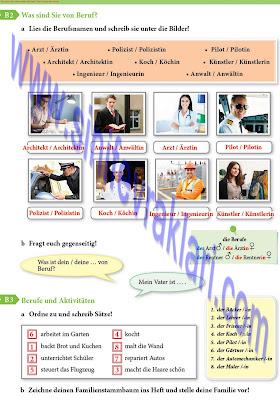 9. Sınıf Almanca A1.1 Ders Kitabı Cevapları Sayfa 35