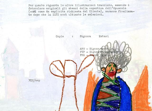 I bambini non disegnano solo su fogli immacolati ma anche su documenti  d ufficio recuperati dal cestino d2031570f96