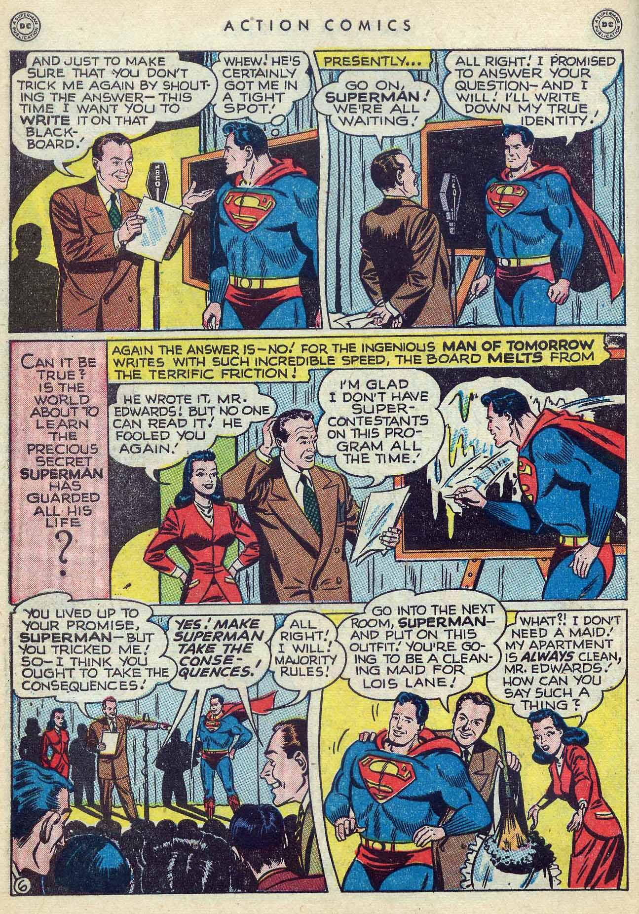 Read online Action Comics (1938) comic -  Issue #127 - 8