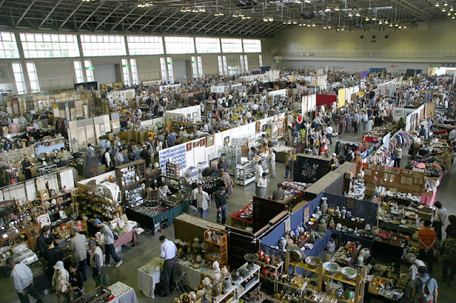 Nagoya Antique Fair at Fukiage Hall, Nagoya City, Aichi